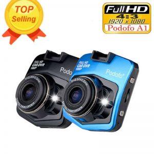 Podofo A1 Mini Car DVR HD Dash Cam Camera