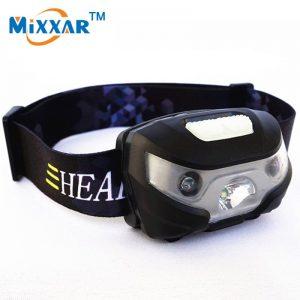 RUZK5 Mini 3000Lm Rechargeable LED Headlamp