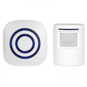 Wireless PIR Motion Sensor Door Entry Alarm