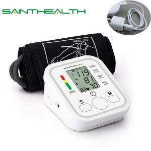 Upper Arm Blood Pressure Heart Beat Tonometer Monitor