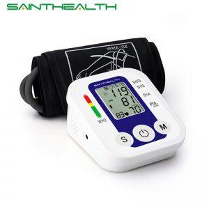 Upper Arm Blood Pressure Pulse Monitor Sphygmomanometer