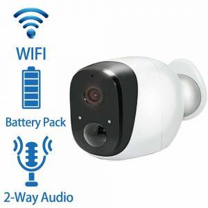 Weatherproof Night Vision WiFi Battery IP CCTV Camera