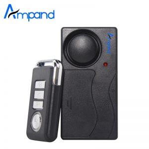 Remote Control Home Security Vibration Alarm