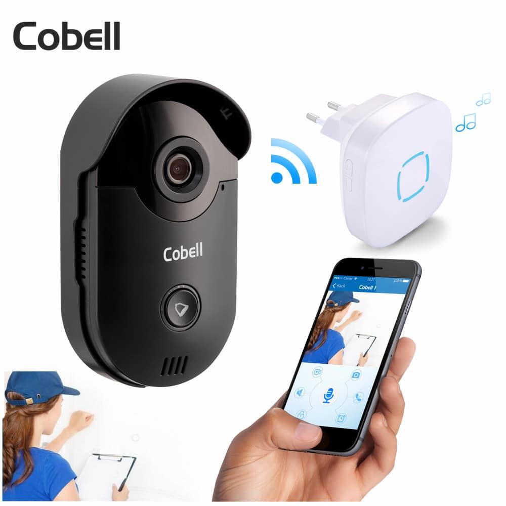 Cobell night vision WiFI intercom video phone doorbell