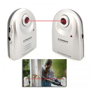 Motion Sensor IR Doorbell Home Security Alarm System