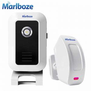 Wireless Infrared IR Motion Sensor Door bell Alarm