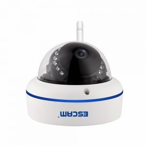ESCAM QD800 WIFI 1080p 2MP outdoor IP IR Dome Camera. It is IP66 waterproof  and Onvif compatible, it support P2P wireless Night Vision. Mobile app can be use to monitor the camera.