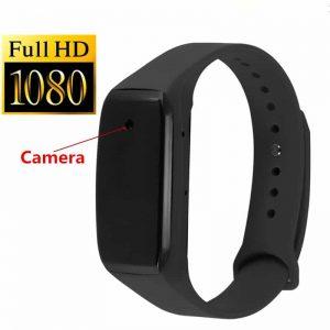 Smart HD 1080P Mini Hidden Camera Wristband Watch