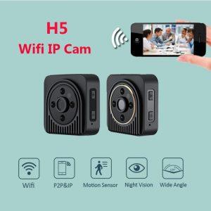H5 Wireless Mini Night Vision Micro Hidden Camera
