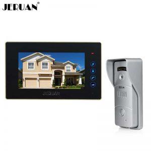 JERUAN 7 Inch Video Home Intercom System
