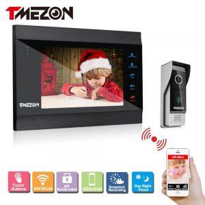 Tmezon Smart IP Video Door Intercom System