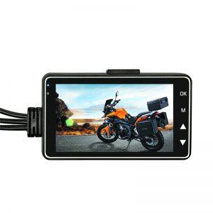 Motorcycle DVR Dual-track Dash Cam