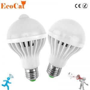 LED PIR Motion Sensor Auto Smart Lamp