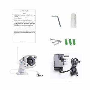 Wireless ip cctv camera and accessories