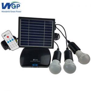 Solar energy saving rechargeable led bulb