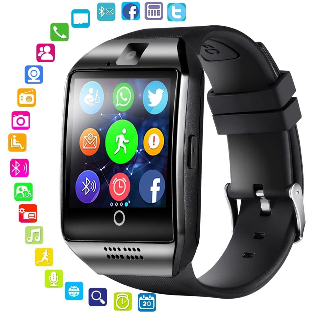 Men Touch Screen Big Battery Sim Card Smart Watch
