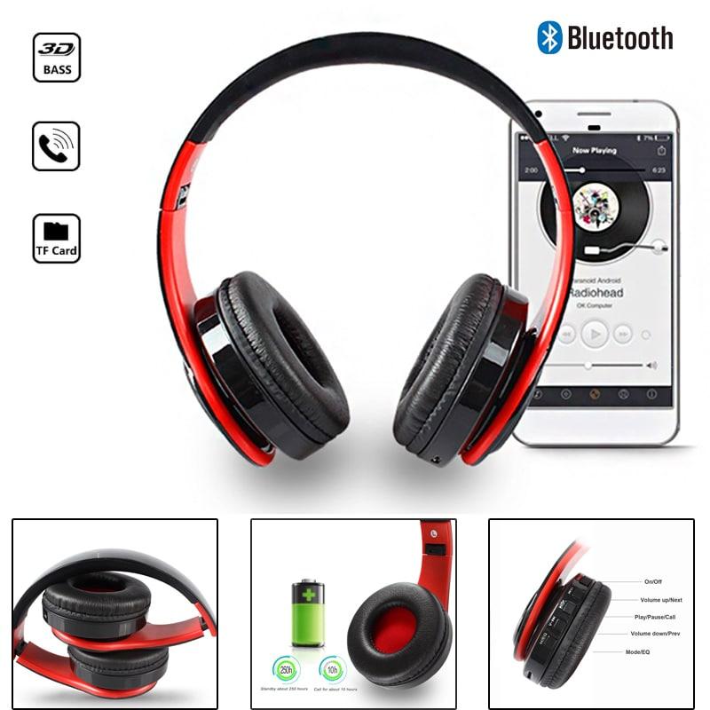 Wireless Bluetooth Headphones MP3 Player