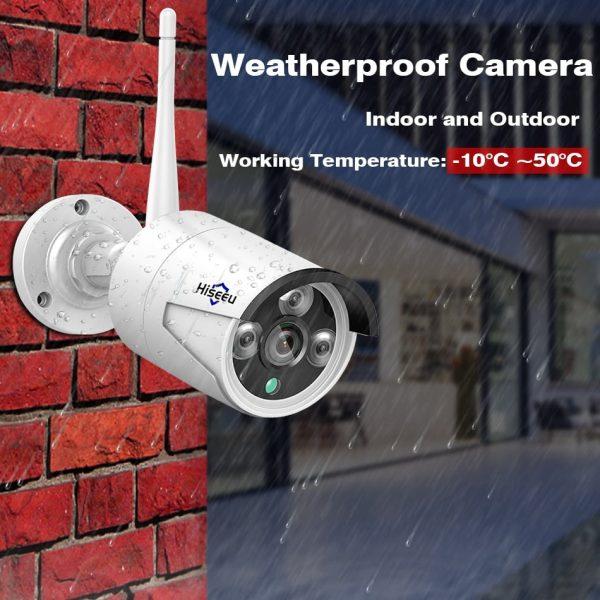 Outdoor Waterproof CCTV Camera operating temperature
