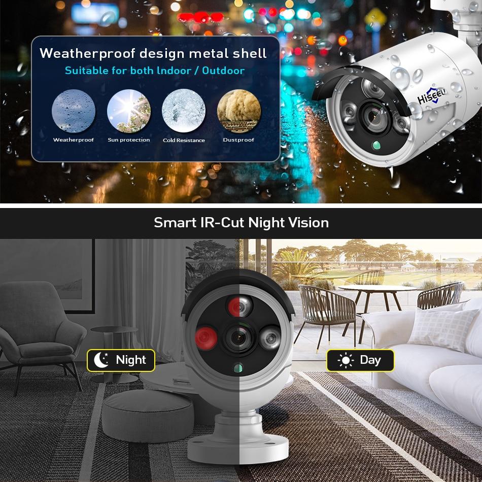 Waterproof ip CCTV camera with smart IR-Cut Night vision